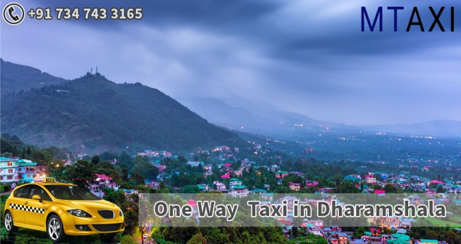 Dharamshala to Chandigarh taxi