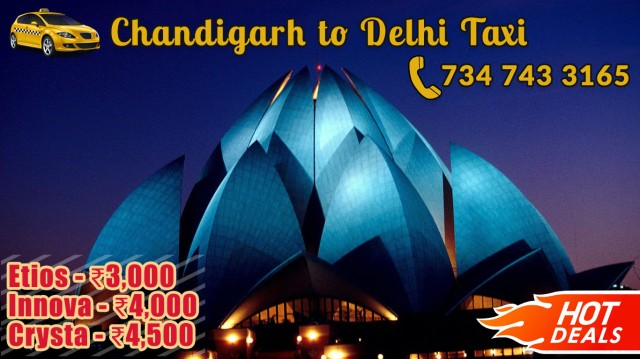 book innova crysta etios taxi chandigarh to delhi one way cabs mohali
