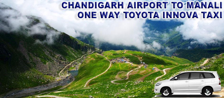 chandigarh to manali taxi service in tricity chandigarh mohali panchkula