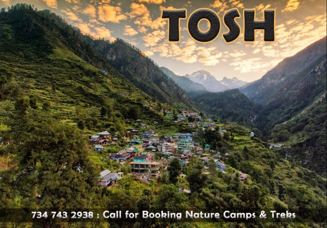 tosh trekking tours nature camps kasol parvati valley