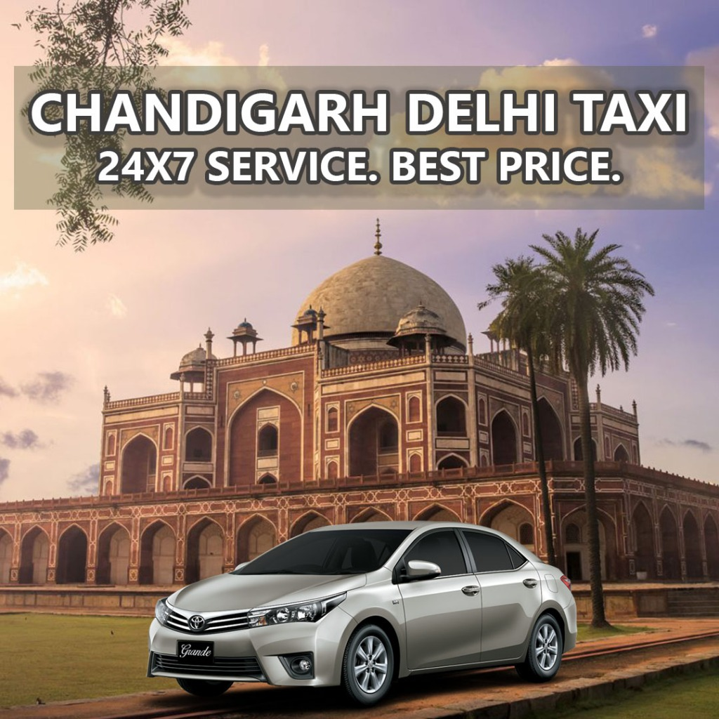 book chandigarh to new delhi taxi airport cabs