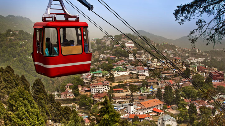 Saharanpur to Mussoorie taxi fare